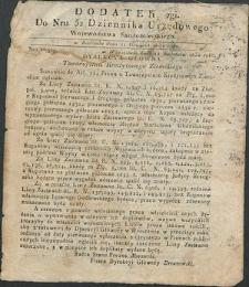 Dziennik Urzędowy Województwa Sandomierskiego, 1834, nr 52, dod. II