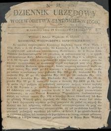 Dziennik Urzędowy Województwa Sandomierskiego, 1834, nr 53