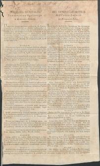 Dziennik Urzędowy Województwa Sandomierskiego, 1834, Dyrektywa Generalna Towarzystwa Ogniowego w Królestwie Polskiem