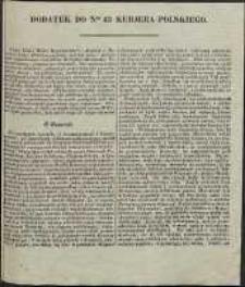 Kurjer Polski, 1830, nr 43, dod.
