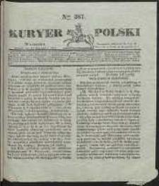 Kuryer Polski, 1831, nr 387