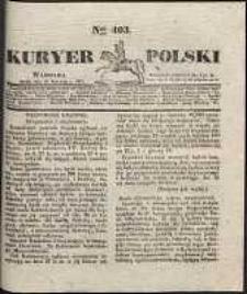Kuryer Polski, 1831, nr 403