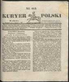 Kuryer Polski, 1831, nr 413