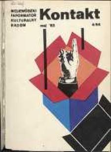 Kontakt : Wojewódzki Informator Kulturalny, 1983, nr 4