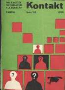 Kontakt : Wojewódzki Informator Kulturalny, 1983, nr 6