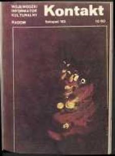 Kontakt : Wojewódzki Informator Kulturalny, 1983, nr 10