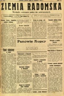 Ziemia Radomska, 1931, R. 4, nr 138