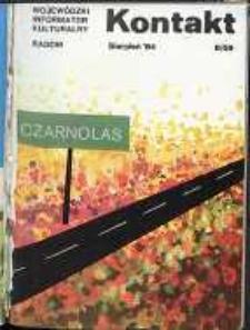 Kontakt : Wojewódzki Informator Kulturalny, 1984, nr 8