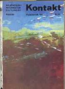 Kontakt : Wojewódzki Informator Kulturalny, 1984, nr 10