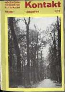 Kontakt : Wojewódzki Informator Kulturalny, 1984, nr 11