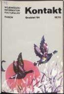 Kontakt : Wojewódzki Informator Kulturalny, 1984, nr 12