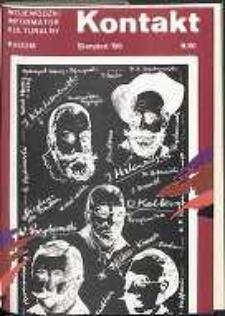 Kontakt : Wojewódzki Informator Kulturalny, 1985, nr 8