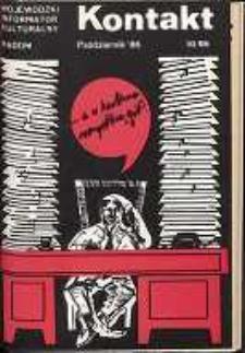 Kontakt : Wojewódzki Informator Kulturalny, 1986, nr 10