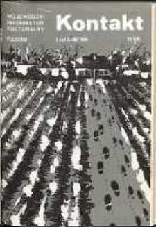 Kontakt : Wojewódzki Informator Kulturalny, 1986, nr 11