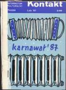 Kontakt : Wojewódzki Informator Kulturalny, 1987, nr 2