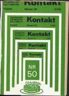 Kontakt : Wojewódzki Informator Kulturalny, 1987, nr 3