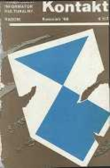 Kontakt : Wojewódzki Informator Kulturalny, 1988, nr 4