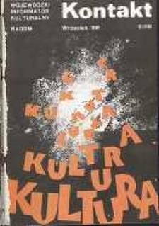 Kontakt : Wojewódzki Informator Kulturalny, 1988, nr 9
