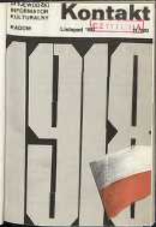 Kontakt : Wojewódzki Informator Kulturalny, 1988, nr 11