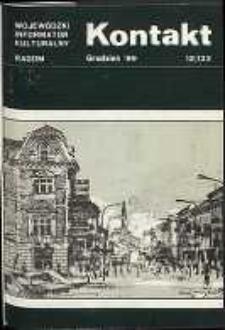 Kontakt : Wojewódzki Informator Kulturalny, 1989, nr 12