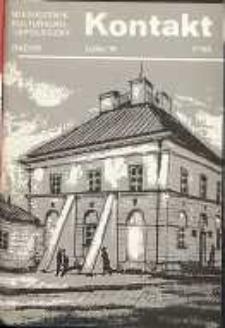 Kontakt : Wojewódzki Informator Kulturalny, 1990, nr 7