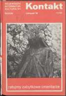 Kontakt : Wojewódzki Informator Kulturalny, 1990, nr 11