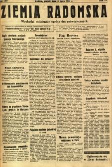 Ziemia Radomska, 1931, R. 4, nr 149