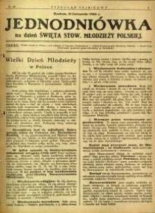 Przegląd Sejmikowy : Urzędowy Organ Sejmiku Radomskiego, 1926, R. 5, nr 44, dod.