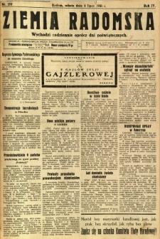 Ziemia Radomska, 1931, R. 4, nr 150