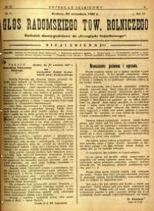 Przegląd Sejmikowy : Urzędowy Organ Sejmiku Radomskiego, 1927, R. 6, nr 38, dod. 2