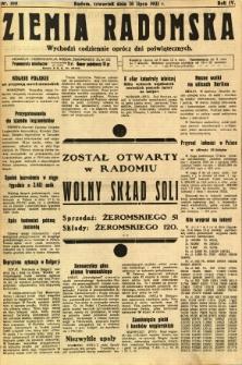 Ziemia Radomska, 1931, R. 4, nr 160