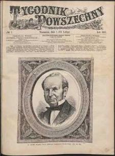 Tygodnik Powszechny, 1881, nr 7