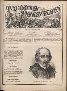 Tygodnik Powszechny, 1881, nr 22