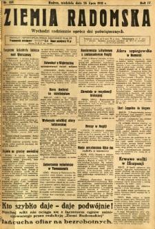 Ziemia Radomska, 1931, R. 4, nr 169