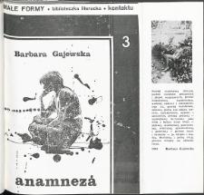 Kontakt : Wojewódzki Informator Kulturalny, 1985, nr 8, dod. Małe Formy nr 3