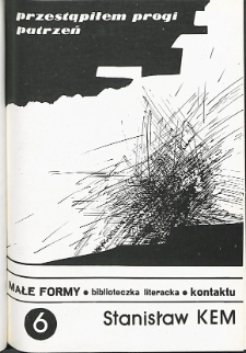 Kontakt : Wojewódzki Informator Kulturalny, 1986, nr 5, dod. Małe Formy nr 6