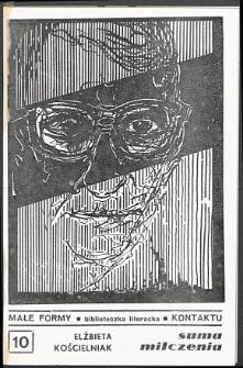Kontakt : Wojewódzki Informator Kulturalny, 1987, nr 3, dod. Małe Formy nr 10