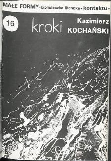 Kontakt : Wojewódzki Informator Kulturalny, 1988, nr 10, dod. Małe Formy nr 16