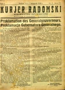Kurier Radomski, 1939, R. 1, nr 7