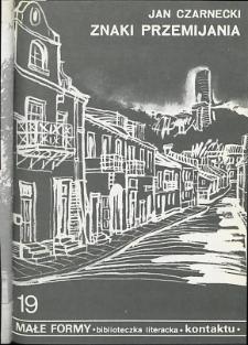 Kontakt : Wojewódzki Informator Kulturalny, 1989, nr 7, dod. Małe Formy nr 19