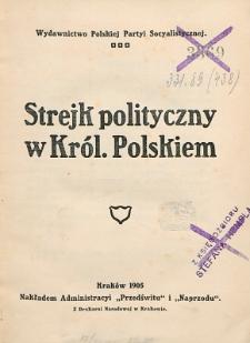 Strejk polityczny w Królestwie Polskim