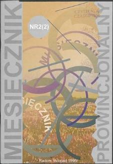 Miesięcznik Prowincjonalny, 1998, R. 1, nr 2