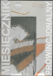 Miesięcznik Prowincjonalny, 1999, R. 2, nr 5