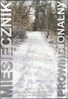 Miesięcznik Prowincjonalny, 2000, R. 3, nr 1/2