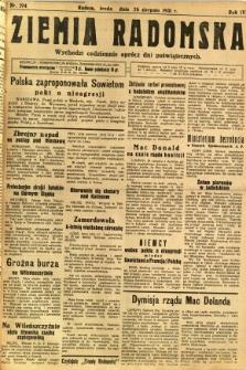Ziemia Radomska, 1931, R. 4, nr 194