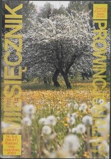 Miesięcznik Prowincjonalny, 2003, R. 6, nr 5/6