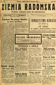 Ziemia Radomska, 1931, R. 4, nr 196