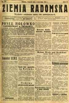 Ziemia Radomska, 1931, R. 4, nr 199