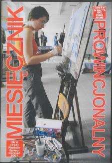 Miesięcznik Prowincjonalny, 2007, R. 9, nr 4