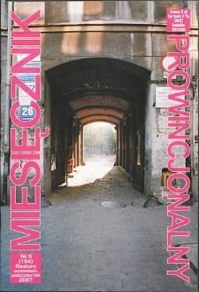 Miesięcznik Prowincjonalny, 2007, R. 9, nr 5